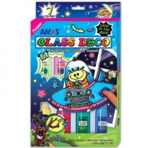 Amos 韓國夜光玻璃彩 (7色)